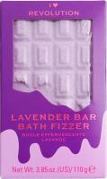 I Heart Revolution - CHOCOLATE BAR BATH FIZZER - Chocolate / Bath ball - LAVENDER