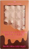 I Heart Revolution - CHOCOLATE BAR BATH FIZZER - Chocolate / Bath ball - CHOCOLATE