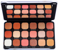 MAKEUP REVOLUTION - FOREVER FLAWLESS - SHADOW PALETTE - 18 eyeshadows - DECADENT