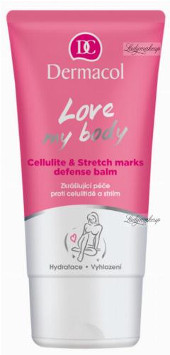 Dermacol - Love My Body - Cellulite & Stretch Marks Defense Balm - Antycellulitowy balsam do ciała na rozstępy - 150 ml