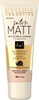 EVELINE - SATIN MATT FOUNDATION - 4-in-1 matting and covering face foundation