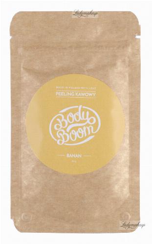 BodyBoom - Coffee Peeling 30g - Banana