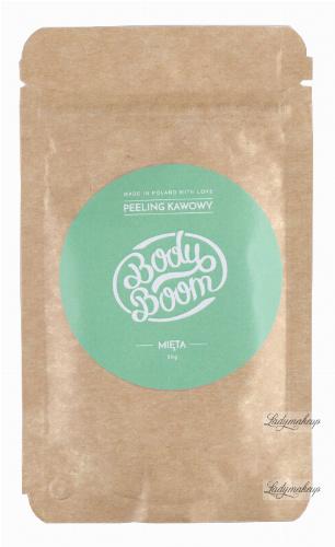 BodyBoom - Peeling Kawowy 30g - Mięta