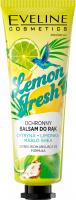 Eveline Cosmetics - Lemon Fresh Hand Balm - Ochronny balsam do rąk - Cytryna i Limonka - 50 ml