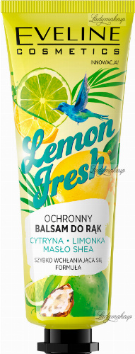 EVELINE - Lemon Fresh Hand Balm - Ochronny balsam do rąk - Cytryna i Limonka - 50 ml