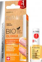 Eveline Cosmetics - NAIL THERAPY PROFESSIONAL - BIO OLIWKA - Multiodżywcza oliwka do skórek i paznokci - 12 ml