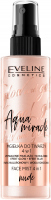 EVELINE - Glow and Go Aqua Miracle - 4in1 face mist - Nude