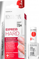 Eveline Cosmetics - NAIL THERAPY PROFESSIONAL - EXPRESS HARD - Ekspresowy utwardzacz do paznokci - 12 ml