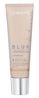 LUMENE - Longwear BLUR Foundation - 4 - WARM BEIGE - 4 - WARM BEIGE