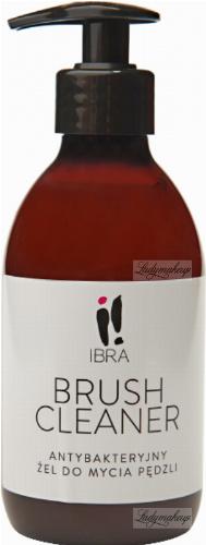 IBRA - BRUSH CLEANER - Antybakteryjny żel do mycia pędzli - 300 ml
