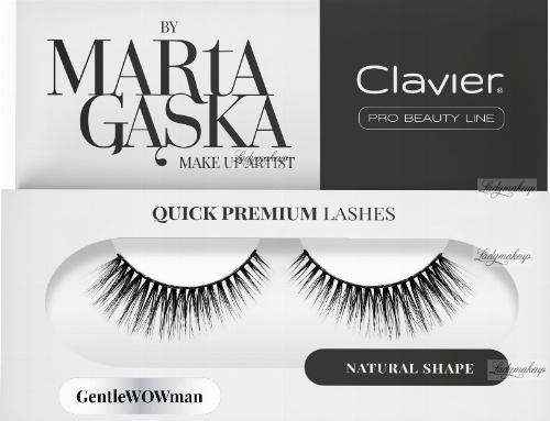 Clavier - QUICK PREMIUM LASHES by Marta Gąska - False eyelashes - 803 GentleWOWman