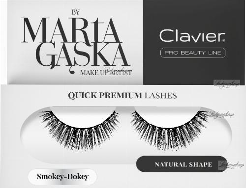 Clavier - QUICK PREMIUM LASHES by Marta Gąska - False eyelashes - 809 Smokey-Dokey
