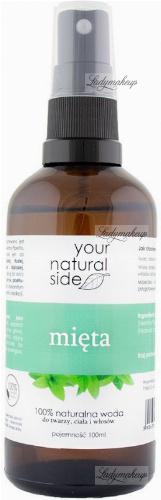 Your Natural Side - 100% naturalna woda z mięty pieprzowej - 100 ml - Spray
