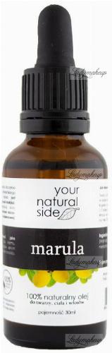 Your Natural Side - 100% naturalny olej z maruli - 30 ml