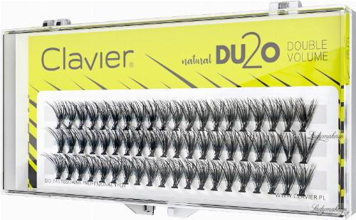 Clavier - Natural DU2O Double Volume - Double volume eyelash tufts