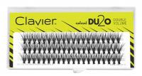 Clavier - Natural DU2O Double Volume - Double volume eyelash tufts - C-9 mm - C-9 mm