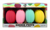 W7 - COOKIE PUFFS - FACE BLENDER SPONGES - Zestaw 4 gąbek do makijażu