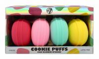 W7 - COOKIE PUFFS - FACE BLENDER SPONGES - A set of 4 makeup sponges
