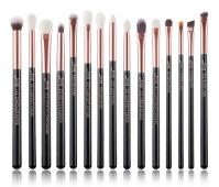 JESSUP - Individual Brushes Set - Set of 15 make-up brushes - T157 Black / Rose Gold