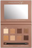Bourjois - RUE DU CAFE - 4 IN 1 EYE PALETTE - Eye shadow palette - 02 Chocolat Nude Edition