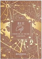 Bourjois - RUE DU CAFE - 4 IN 1 EYE PALETTE - Paleta cieni do powiek - 02 Chocolat Nude Edition