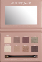 Bourjois - PLACE DE L'OPERA - 4 IN 1 EYE PALETTE - Paleta cieni do powiek - 01 Rose Nude Edition