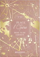 Bourjois - PLACE DE L'OPERA - 4 IN 1 EYE PALETTE - Paleta cieni do powiek - 01 Rose Nude Edition