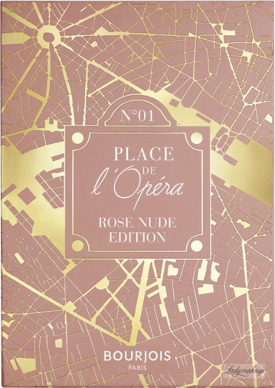 Place De LOpera Eyeshadow Palette 01 | Rose Nude Edition
