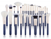 JESSUP - Classics Galaxy Series Brushes Set - Zestaw 30 pędzli do makijażu - T470 Prussian Blue/Golden Sands