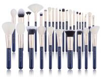 JESSUP - Classics Galaxy Series Brushes Set - Zestaw 30 pędzli do makijażu - T470 Prussian Blue/Golden Sands