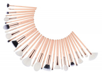 JESSUP - Classics Chrysalid Series Brushes Set - Zestaw 30 pędzli do makijażu - T440 Peach Puff/Rose Gold