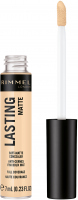RIMMEL - LASTING MATTE CONCEALER - Mattifying face corrector - 7 ml