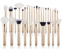 JESSUP - Classics Alchemy Brushes Set - Zestaw 30 pędzli do makijażu - T400 Golden/Rose Gold
