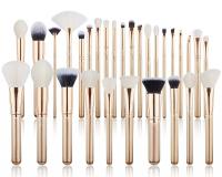 JESSUP - Classics Alchemy Brushes Set - Set of 30 make-up brushes - T400 Golden / Rose Gold