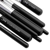 JESSUP - Individual Brushes Set - Zestaw 25 pędzli do makijażu - T175 Black/Silver