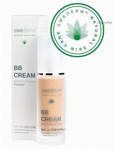 Swederm - BB CREAM - Benefit & Balance Perfector - Krem BB - SPF15 - 30 ml