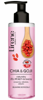 Lirene - SUPERFOOD FOR SKIN - Natural face cleansing gel - Chia & Goji - 190 ml