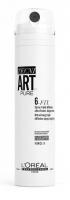 L'Oréal Professionnel - TECNI.ART PURE - 6-FIX - Silnie utrwalający lakier do włosów - Force 6