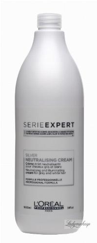 L'Oréal Professionnel - SERIE EXPERT - SILVER NEUTRALISING CREAM - Odżywka do siwych i rozjaśnionych włosów - Neutralizuje żółty odcień - 1000 ml