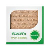 Ecocera - SHIMMER - Wegański puder rozświetlający - 10 g - MALTA - MALTA