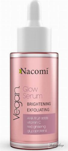 Nacomi - Glow Serum - Wegańskie serum rozjaśniająco-złuszczające do twarzy - Noc - 40 ml