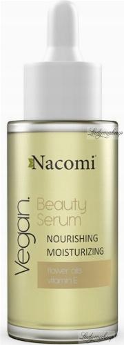 Nacomi - Beauty Serum - Wegańskie serum odżywczo-nawilżające do twarzy - Noc - 40 ml