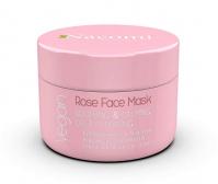 Nacomi - Rose Face Mask - Łagodząco-uspokajająca maska różana do twarzy - 50 ml