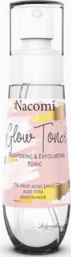 Nacomi - Glow Toner - Złuszczająco-rozświetlający tonik do twarzy - 80 ml