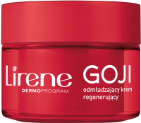 Lirene - SUPERFOOD FOR SKIN - Odmładzający krem regenerujący do twarzy - Goji - 50 ml