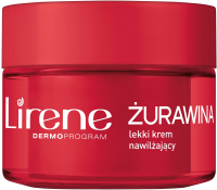 Lirene - SUPERFOOD FOR SKIN - Lekki krem nawilżający do twarzy - Żurawina - 50 ml