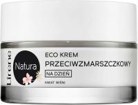 Lirene - Natura - Eco krem przeciwzmarszczkowy na dzień - Kwiat Wiśni - 50 ml