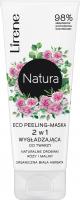 Lirene - Natura - Eco peeling facial smoothing mask - 75 ml