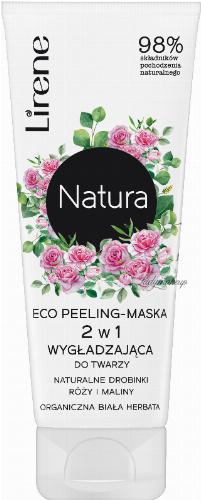 Lirene - Natura - Eco peeling maska wygładzająca do twarzy - 75 ml