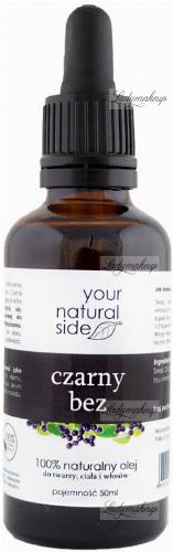 Your Natural Side - 100% naturalny olej z czarnego bzu - 50 ml